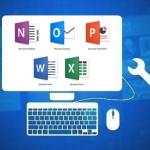 Menüband in Word, Excel, PowerPoint, OneNote oder Outlook auf Werkszustand zurücksetzen