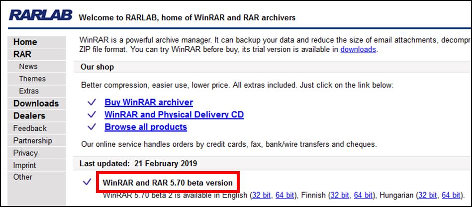 WinRAR5.705.6.1UpdateRiskioSicherheitSicherheitslückeSchadsoftwareVirusBackdoorHintertürHackerAngriffProblemLösungSicherheitsrisikoACEUNACEV2.DLLentfernenbehebenverwenden-2.png
