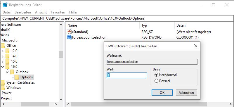 MicrosoftOfficeOutlookE-MailEmailKontoKontenAccountAccountsAbsenderbestimmenfestlegenautomatischauswählenImmer-Absender-auswählenimmer-Konto-auswählenKontoauswahl-erzwingenAbsenderauswahl-3.png