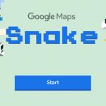 Klassiker Snake in Google Maps im Browser oder in der Google Maps App spielen - So geht es!