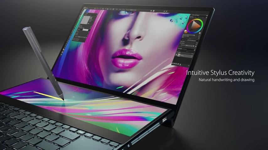 AsusZenBookProDuoZenBook-Pro-DuoScreenPadScreenPad-2.0ScreenPad-Plus4K-DisplayFHD-DisplayFull-HD-DisplayMultitaskingWindows-10NotebookLaptopDual-ScreenZwei-Screens-1.jpg