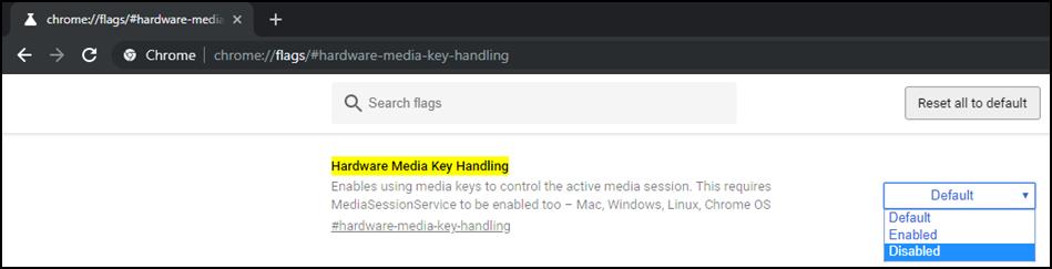 Steuerung des Chrome Browser über Multimedia-Tasten der Tastatur