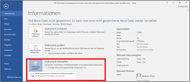 MicrosoftOfficwWordMicrosoft-WordDokumenteDateiennicht-gesichertnicht-gespeichertNicht-speichernDOCDOCXDOC-Datei-wiederherstellenDokument-wiederherstellenNicht-gespeicherte-Datei-2.png