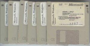 Ein Satz Windows 3.1 Disketten....jpg