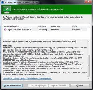 Bereinigung MSE 02 - Exact Audio Copy Beta auch bei CHIPde.jpg