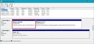 Datenträgerverwaltung - Systemreservierte Partition.jpg