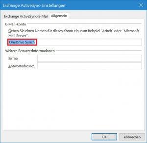 Outlook - Konto umbenennen - Senden-Empfangen Gruppen bearbeiten - Kontoeigenschaften - Namen ve.jpg
